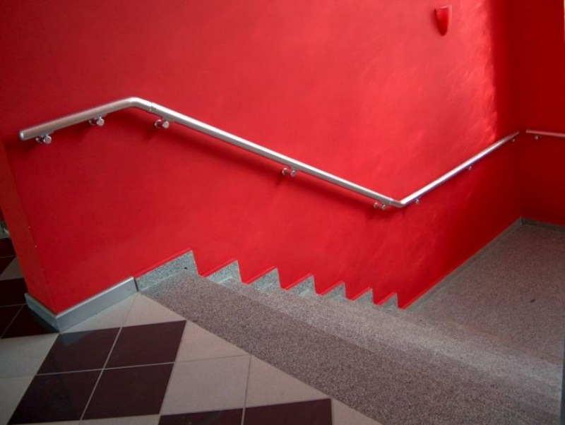 Лестничные перила и ограждения из анодированного а